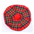 Scottish Tam O' Shanter Hat Clan Tartan/Tammy HAT Kilt Cap One Size  Royal Stewart