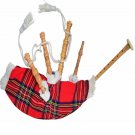 Kids Playable Bagpipe/Junior Playable Bagpipes/Child Toy Bagpipe Royal Stewart