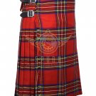 Scottish Royal Stewart 8 Yard KILT For Men Highland Traditional Acrylic Tartan Kilt