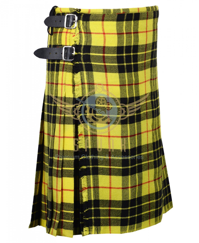 Scottish McLeod of Lewis 8 Yard KILT For Men Highland Traditional McLeod of Lewis Kilt