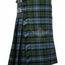 Scottish Campbell Ancient 8 Yard KILT For Men Highland Traditional Acrylic Tartan Kilt