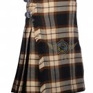 Scottish Rose Ancient 8 Yard KILT For Men Highland Traditional Rose Ancient Tartan Kilt