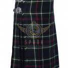 Scottish 8 Yard Mackenzie KILT For Men Highland Traditional Kilt Size 38