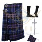 Handmade Scottish 8 Yard Pride of Scotland TARTAN 8 yard  KILT with Free  Accessories