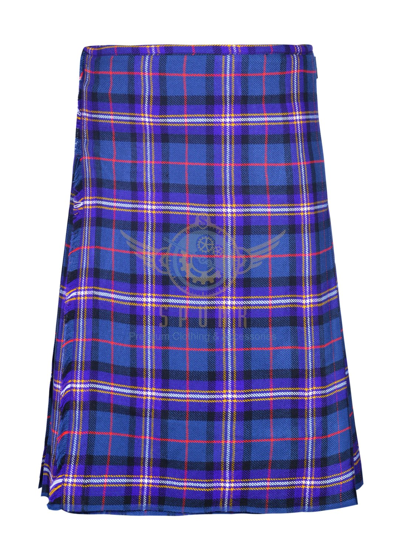 Handmade Scottish 8 Yard KILT For Men Highland Traditional Masonic Kilt Size 36