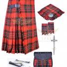 Mens Scottish 8 Yard KILT Traditional 8 yard KILT Macgregor & Free Accessories