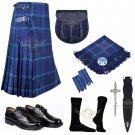 Scottish 8 Yard KILT Traditional 8 yard Tartan KILT Spirit of Scotland 8 yard Kilt With Accessories
