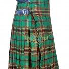 Scottish 8 Yard TARTAN KILT For Men Highland Traditional Kilt Tara Murphy Tartan Waist 30