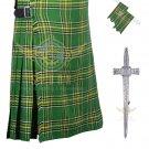 Men's Scottish Irish  8 Yard KILT Highland Traditional 8 Yard KILT Package