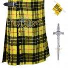 Scottish Macleod of Lewis 8 Yard KILT Highland Traditional 8 Yard KILT Package