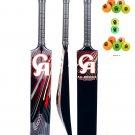 3 x CA NJ-8000 Tape Ball Fiber Cricket Bat 38mm (Pack of 3 Bats With 6 CA Balls)
