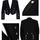 Men's Scottish Prince Charlie Kilt Jacket With Waistcoat/Vest Kilt Jacket