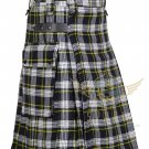 Men's Scottish Modern Dress Gordon utility kilt -2 Cargo Pockets Utility Kilt