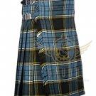 Scottish Anderson Tartan 8 Yard KILT For Men Highland Traditional 8 yard Kilt Waist 34