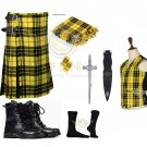 Scottish Macleod of Lewis 8 Yard KILT Traditional Tartan KILT - With Free Accessories Package