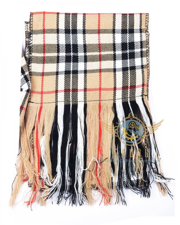 "Scottish Highland Campbell Of Thompson Scarf CLAN Tartan SASH SCARF ""90"" X ""12"""