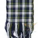 "Scottish Highland Dress Gordon Scarf CLAN Tartan SASH SCARF ""90"" X ""12"""