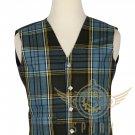 Men's Scottish Anderson VEST 5 Buttons Vest Acrylic Tartan Vest - Wedding Vest