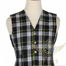 Men's Scottish Dress Gordon VEST 5 Buttons Vest Tartan Vest - Wedding Vest