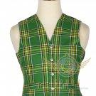 Men's Scottish Irish Tartan VEST 5 Buttons Vest - Wedding Vest