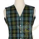 Men's Scottish Gunn Ancient VEST 5 Buttons Vest Acrylic tartan Vest -Wedding Vest