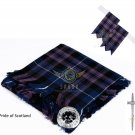 Scottish Traditional Pride of Scotland Tartan Kilt FLY PLAID + Brooch - Flashes - Kilt pin