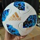 ADIDAS TELSTAR WHITE & Blue RUSSIA SOCCER MATCH BALL Size 5 FIFA World Cup Football 2018