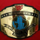 WWF INTERCONTINENTAL / IC CHAMPIONSHIP BELT IN 2MM THICK BRASS PLATES
