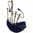 BAGPIPES Highlander Scottish Natural Finish Rosewood Bagpipe with Practice Chanter