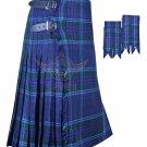 8 Yard KILT Scottish Highland Traditional Spirit of Scotland 8 Yard KILT with Flashes