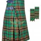Scottish Tara Murphy 8 Yard KILT Murphy Clan Fabric 8 Yard KILT with Flashes