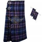 Pride of Scotland 8 Yard KILT Pride of Scotland Fabric 8 Yard KILT with Flashes