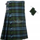 Scottish Campbell Ancient 8 Yard KILT Ancient  Campbell Fabric 8 Yard KILT with Flashes
