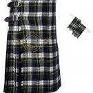 Scottish Dress Gordon 8 Yard KILT Dress Gordon Fabric 8 Yard KILT with Flashes
