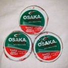Osaka PVC Tape Roll Cricket Tennis White Packet 8 Mil x 18mm x 10yds Pack of 24