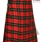 Scottish Wallace 8 yard KILT For Men Highland Traditional Acrylic Tartan Kilts