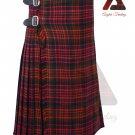 Scottish MacDonald 8 yard KILT For Men Highland Traditional Acrylic Tartan Kilts
