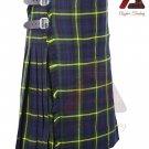Scottish Gordon 8 yard KILT For Men Highland Traditional Acrylic Tartan Kilts
