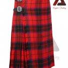 Scottish Rose 8 yard KILT For Men Highland Traditional Acrylic Tartan Kilts