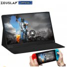 ZEUSLAP thin portable lcd hd monitor 15.6 usb type c hdmi for laptop