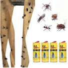 4pcs Sticky Ant Fly Repellent Paper Eliminate Flies Insect Bug Home