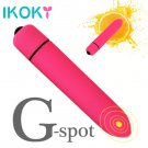 IKOKY 10 Speed Bullet Vibrator Dildo Vibrator for Women G-spot