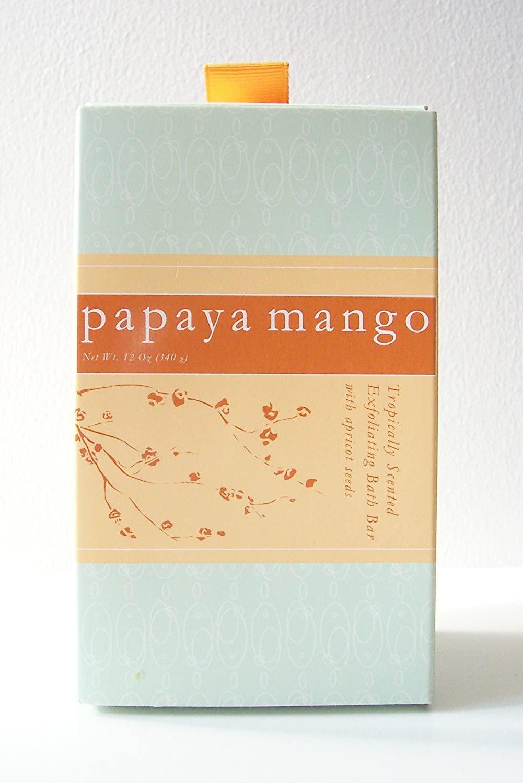 Commonwealth Soap & Toiletries ( CST ) Tropically Scented Exfoliating Bath Bar ( Papaya Mango )