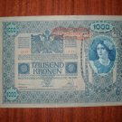 10 VINTAGE CURRENCY NOTES VARIOUS COUNTRIES AND DATES.