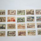 137 OLD STAMPS OF FRANCE - VARIOUS SERIES AND DATES.