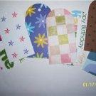 30 die cut tags various prints