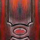Doors: English series. Kipling. Red flower, Vintage door Replica