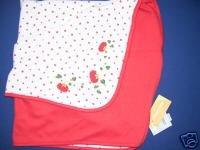 Gymboree DOES YOUR GARDEN GROW Girls Blanket