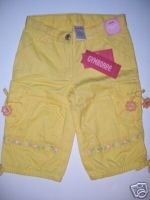 Gymboree SUNFLOWER FIELDS Cargo Capri 3