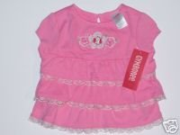 Gymboree LOVE IS IN THE AIR Tiered Ruffle TOP 6-12